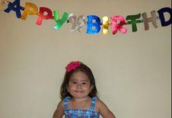 Cumpleaños hija Frankli